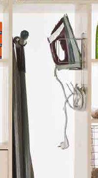 wardrobe iron holder