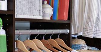 wardrobe hanging rail 33mm