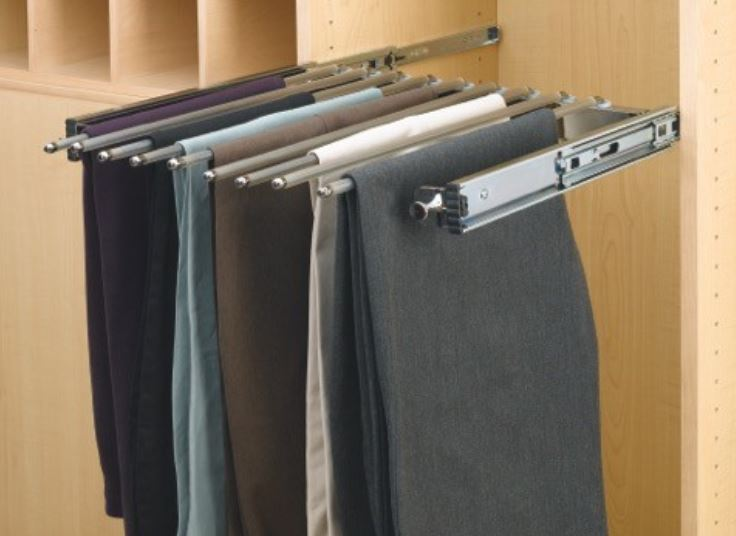 trouser wardrobe rack