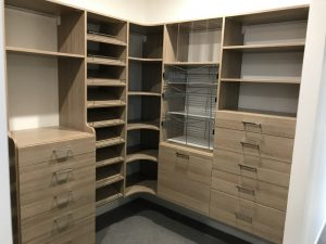 wood grain wardrobe