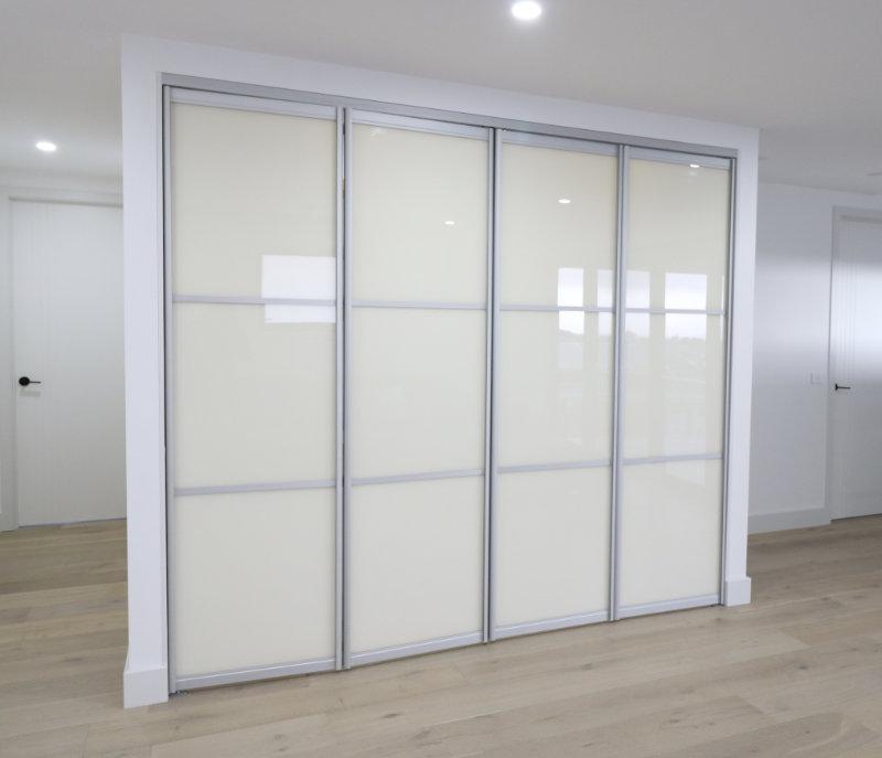 folding door closed