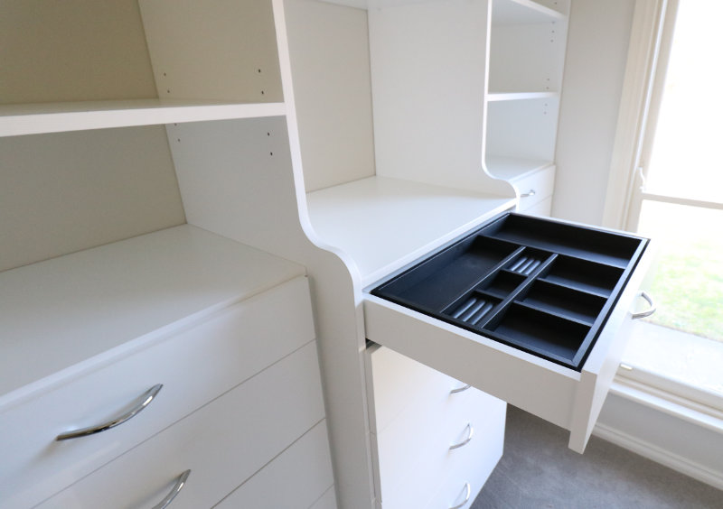 Pullout Jewellery Drawer white
